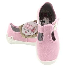 Befado kinderschoenen blanka roze 115X002 zilver 6