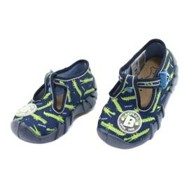 Befado kinderschoenen 110P410 marineblauw groente 3