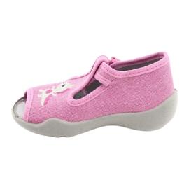 Befado kinderschoenen 213P122 roze 2