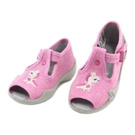 Befado kinderschoenen 213P122 roze 3