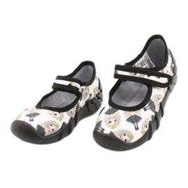 Befado prinses snelle schoenen 109P228 zwart ecru 2