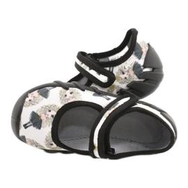Befado prinses snelle schoenen 109P228 zwart ecru 4
