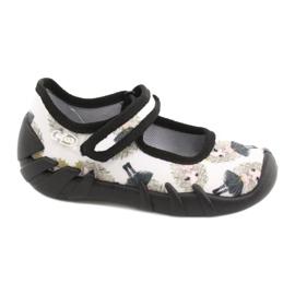 Befado prinses snelle schoenen 109P228 zwart ecru 1