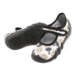 Befado prinses snelle schoenen 109P228 zwart ecru 3