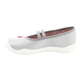 Befado kinderschoenen 116Y288 roze grijs veelkleurig 2