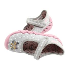 Befado kinderschoenen 109P208 roze grijs veelkleurig 5