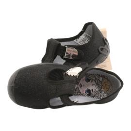 Befado kinderschoenen blanka zwart 115X006 zilver 7