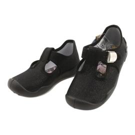 Befado kinderschoenen blanka zwart 115X006 zilver 5