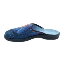 Befado gekleurde kinderschoenen 707Y412 blauw veelkleurig 2