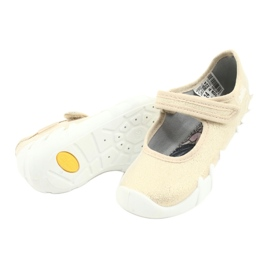 Befado snelle gouden kinderschoenen 109P224 beige 4