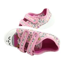 Befado kinderschoenen 907P119 roze veelkleurig 5