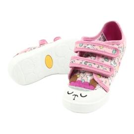 Befado kinderschoenen 907P119 roze veelkleurig 4