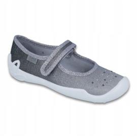 Befado kinderschoenen 114Y315 zilver grijs 1