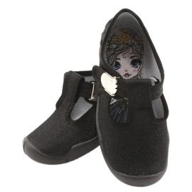 Befado kinderschoenen blanka zwart 115X006 6