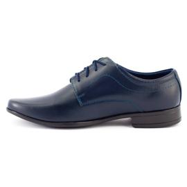 Lukas Communie schoenen voor kinderen J1 marineblauw 3