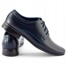 Lukas Communie schoenen voor kinderen J1 marineblauw 1