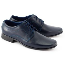Lukas Communie schoenen voor kinderen J1 marineblauw 4