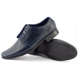 Lukas Communie schoenen voor kinderen J1 marineblauw 5