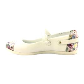 Ballerina's meisjes bloemen Bartek wit veelkleurig 2
