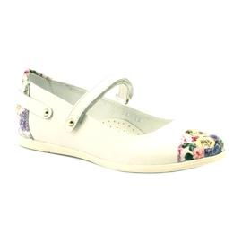 Ballerina's meisjes bloemen Bartek wit veelkleurig 1