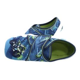 Befado kinderschoenen 273Y306 blauw groente 5