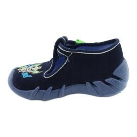 Befado kinderschoenen 110P388 marineblauw groente 2