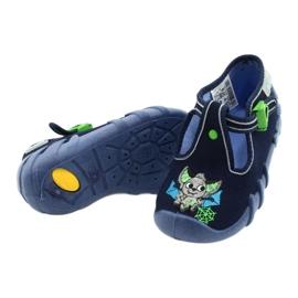 Befado kinderschoenen 110P388 marineblauw groente 4