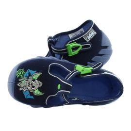 Befado kinderschoenen 110P388 marineblauw groente 5