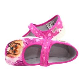 Befado kinderschoenen 114X438 roze veelkleurig 5
