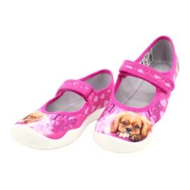 Befado kinderschoenen 114X438 roze veelkleurig 3