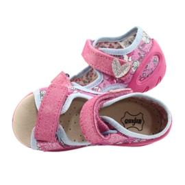 Befado kinderschoenen pu 065P147 roze veelkleurig 5