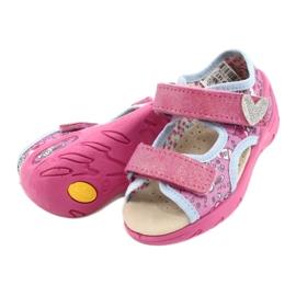 Befado kinderschoenen pu 065P147 roze veelkleurig 4
