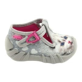 Befado kinderschoenen 110P416 roze grijs 1