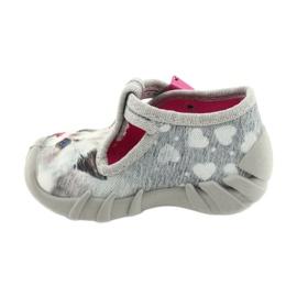 Befado kinderschoenen 110P416 roze grijs 2