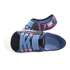 Befado kinderschoenen 251X160 rood marineblauw blauw 5