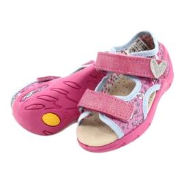 Befado kinderschoenen pu 065P147 roze 4