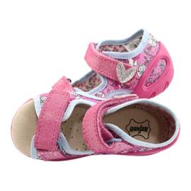 Befado kinderschoenen pu 065P147 roze 5