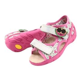 Befado sandalen kinderschoenen 065P148 roze zilver grijs 3
