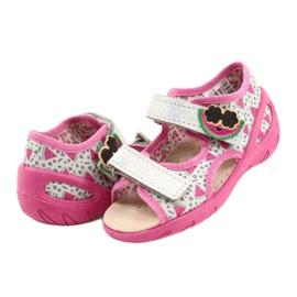 Befado sandalen kinderschoenen 065P148 roze zilver grijs 5