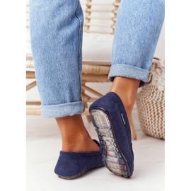 PH1 Suède loafers voor dames, marineblauw San Marino 4