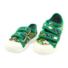 Befado sneakers met klittenband Bang 907P122 veelkleurig groente 1