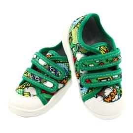 Befado sneakers met klittenband Bang 907P122 veelkleurig groente 4