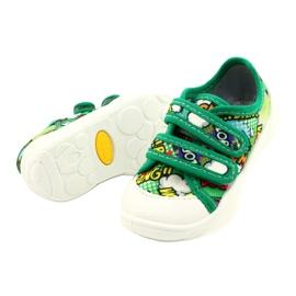 Befado sneakers met klittenband Bang 907P122 veelkleurig groente 2