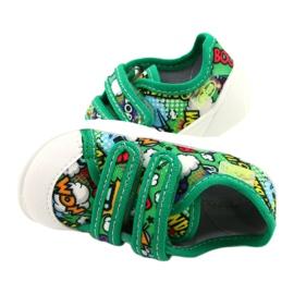 Befado sneakers met klittenband Bang 907P122 veelkleurig groente 3