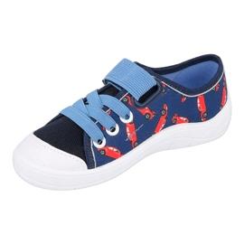 Befado sneakers kinderschoenen 251X160 rood marineblauw blauw 4
