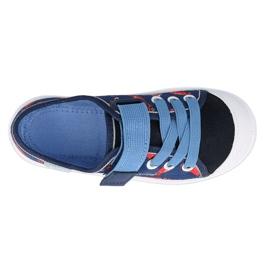 Befado sneakers kinderschoenen 251X160 rood marineblauw blauw 2