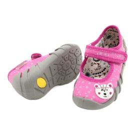Befado kinderschoenen 109P209 roze grijs 3