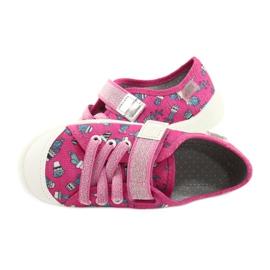 Befado kinderschoenen 251X167 roze zilver 5