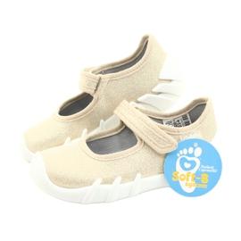Befado snelle gouden kinderschoenen 109P224 beige 6