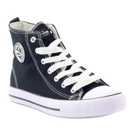 American Club hoge sneakers LH02 zwart 1
